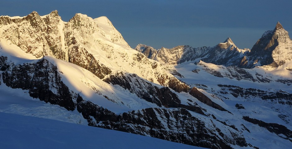 Massif du Mont Rose, le Cervin