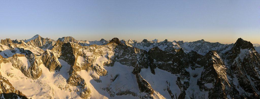 Panoramique Deux Alpes -Ecrins