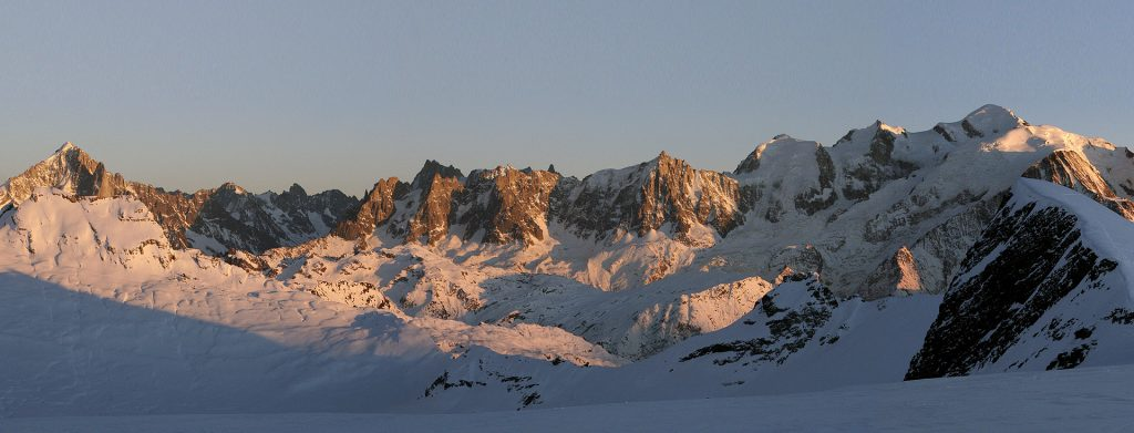 Panoramique Flaine - Mont Blanc
