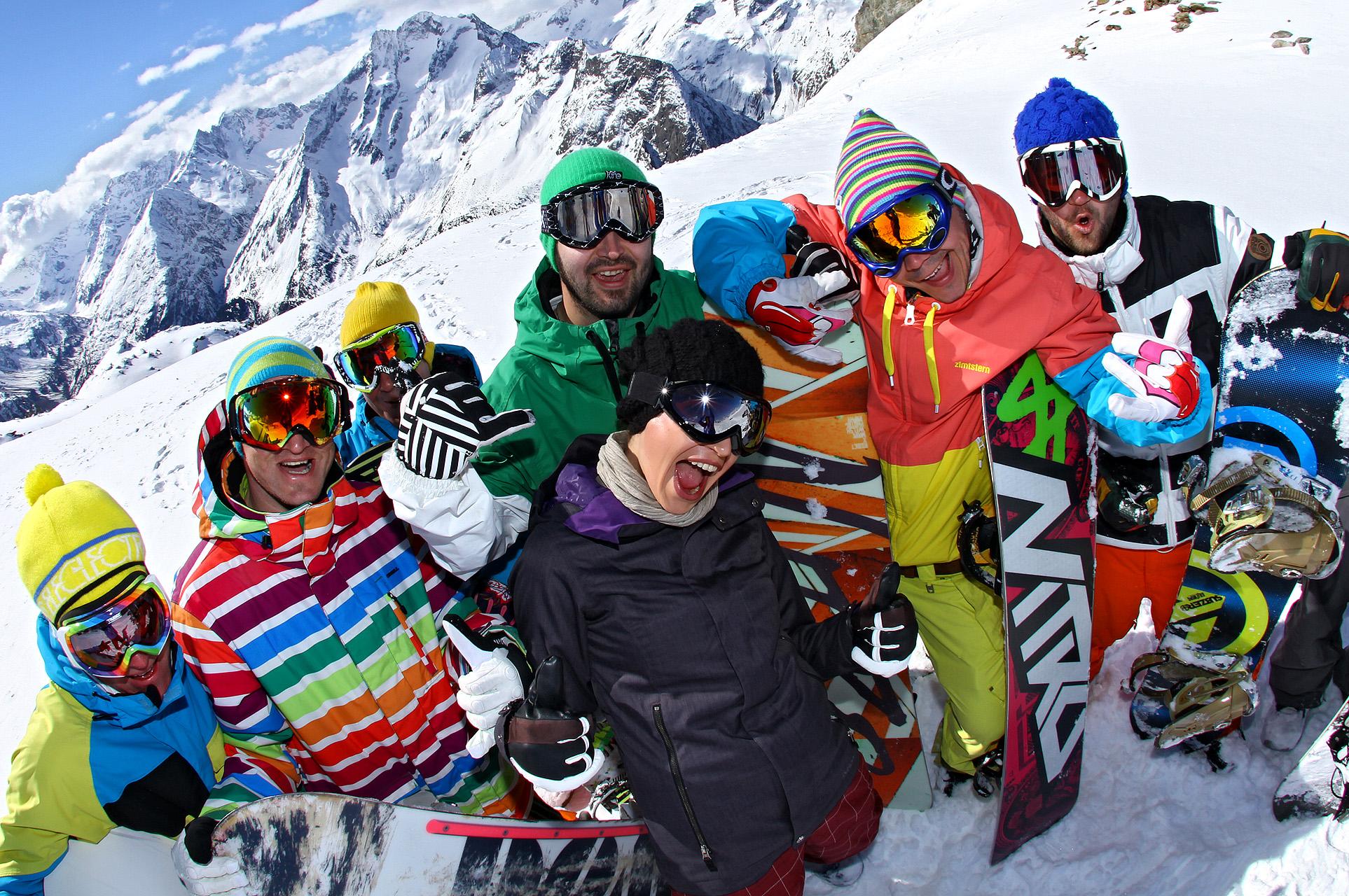 Groupe séjour de ski aux Deux Alpes