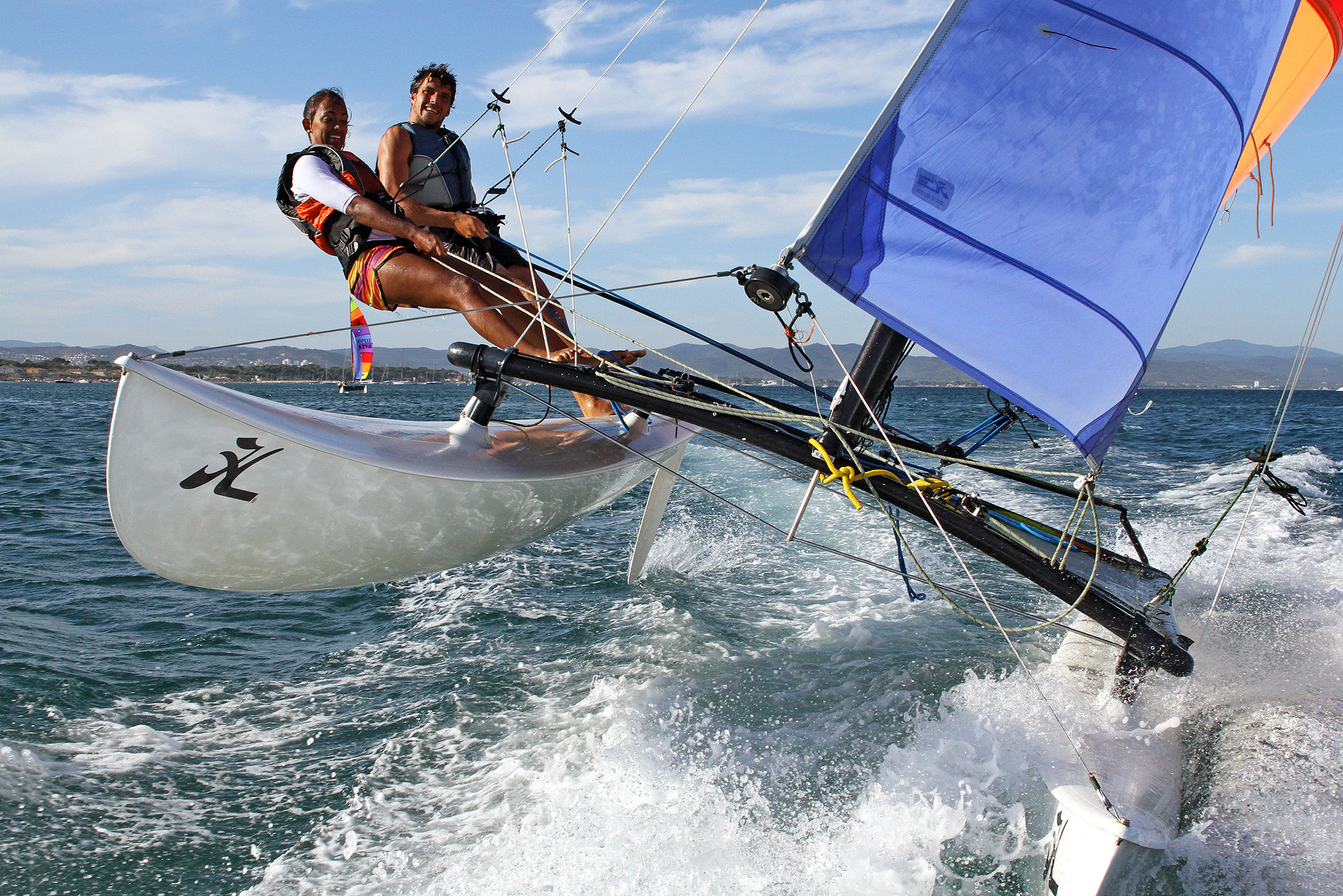 Catamaran de sport Méditerranée