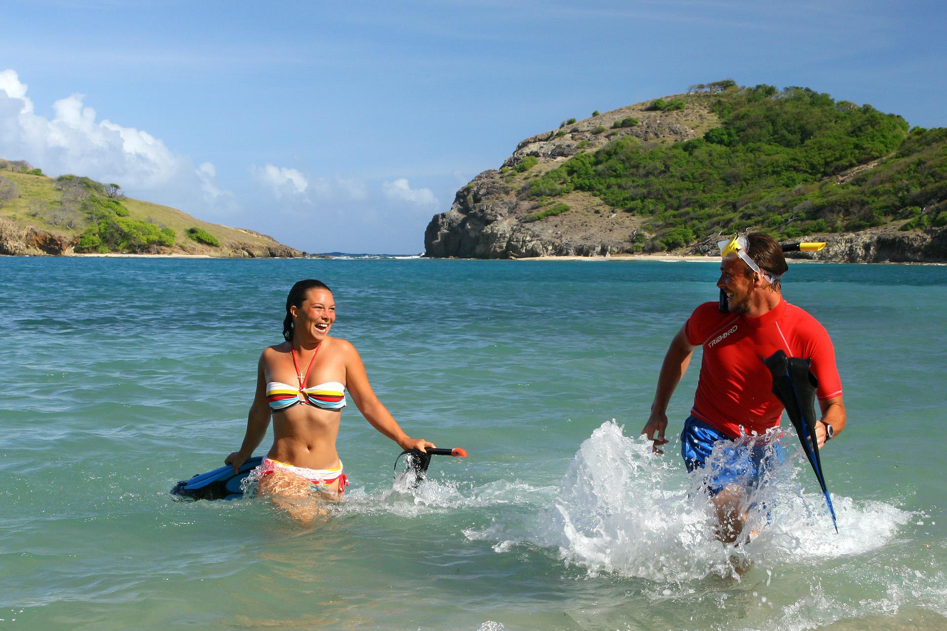 Couple vacances Guadeloupe