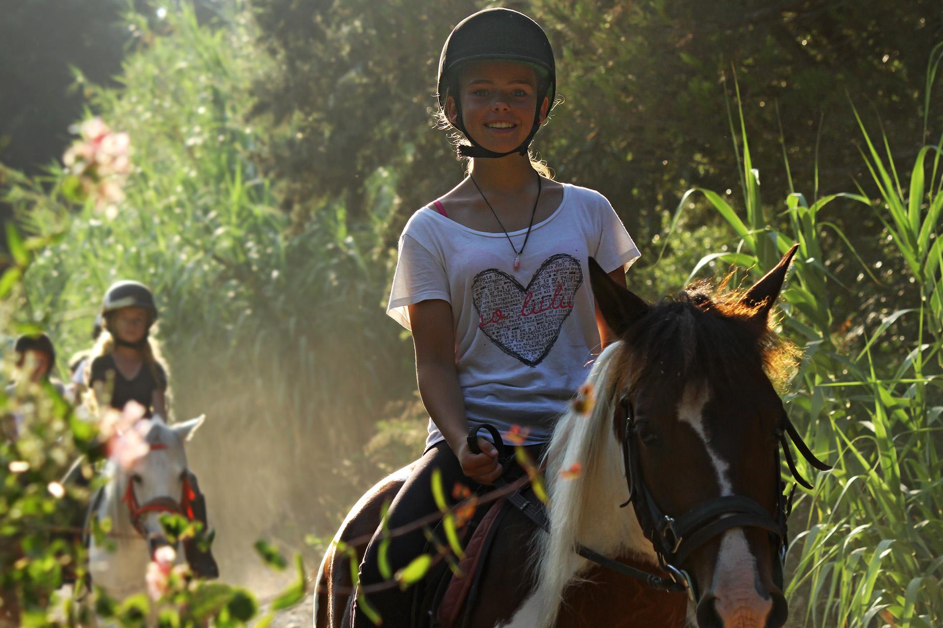 Equitation séjour de vacances jeunes