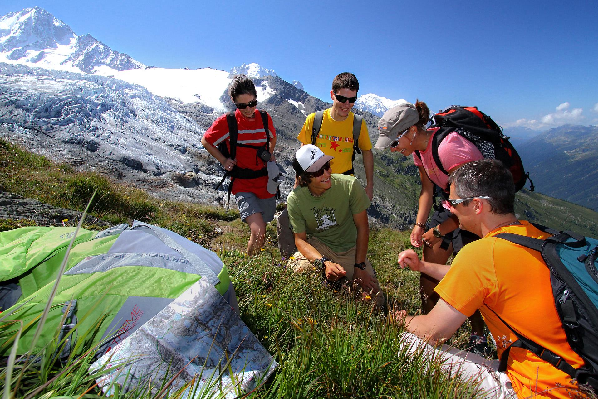 Randonnée Massif du Mont Blanc