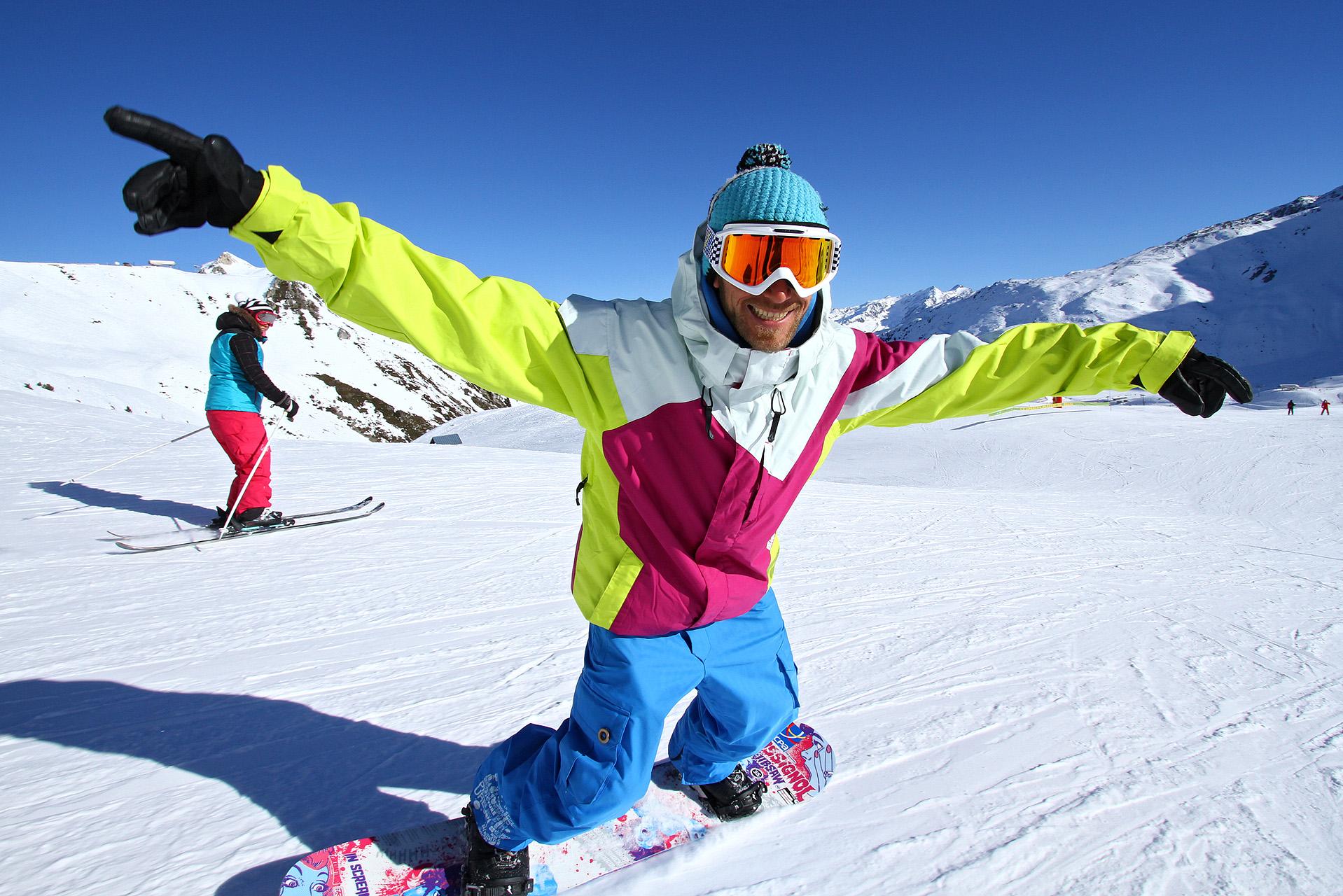 Snowboard à la cool