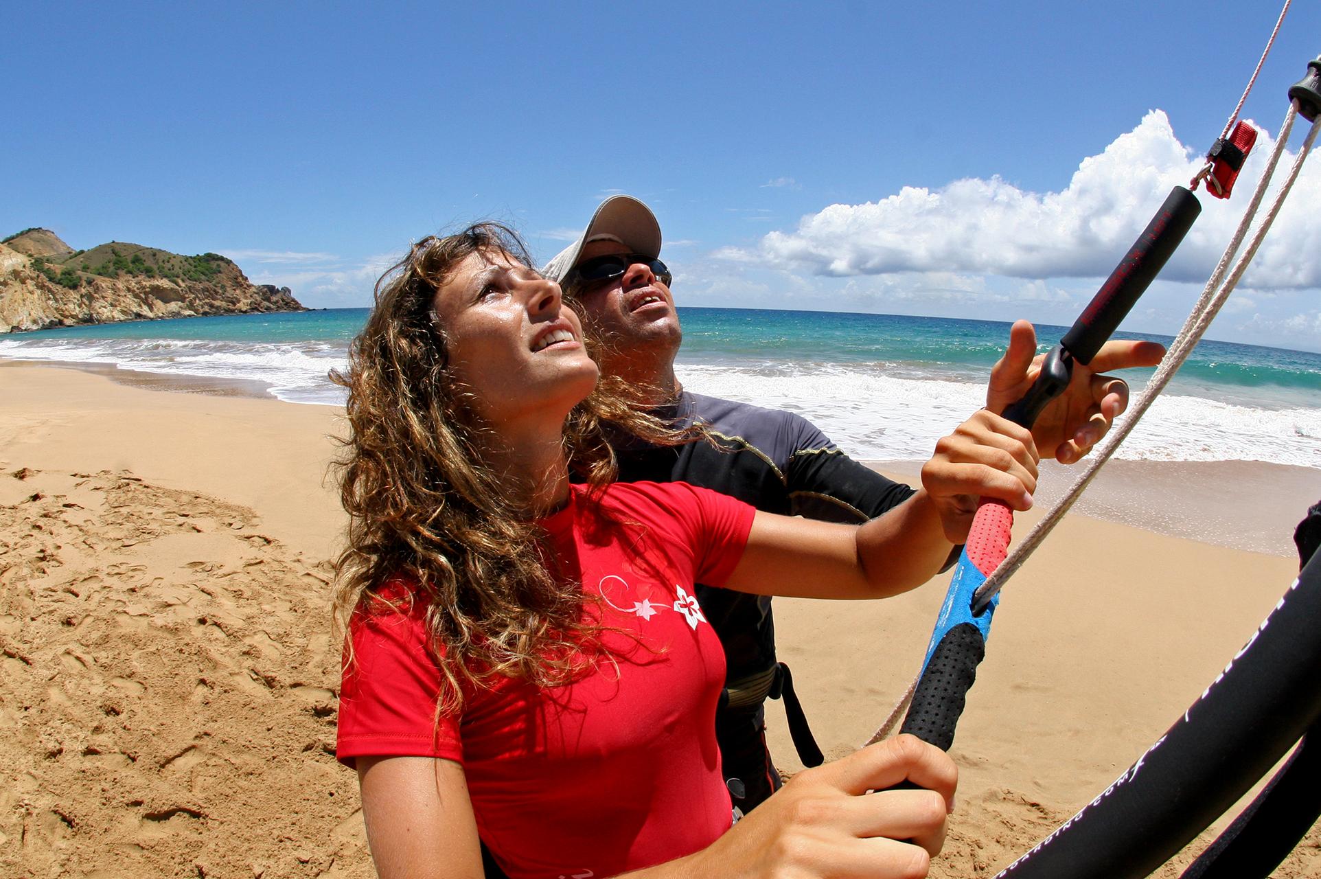 Kite en Guadeloupe