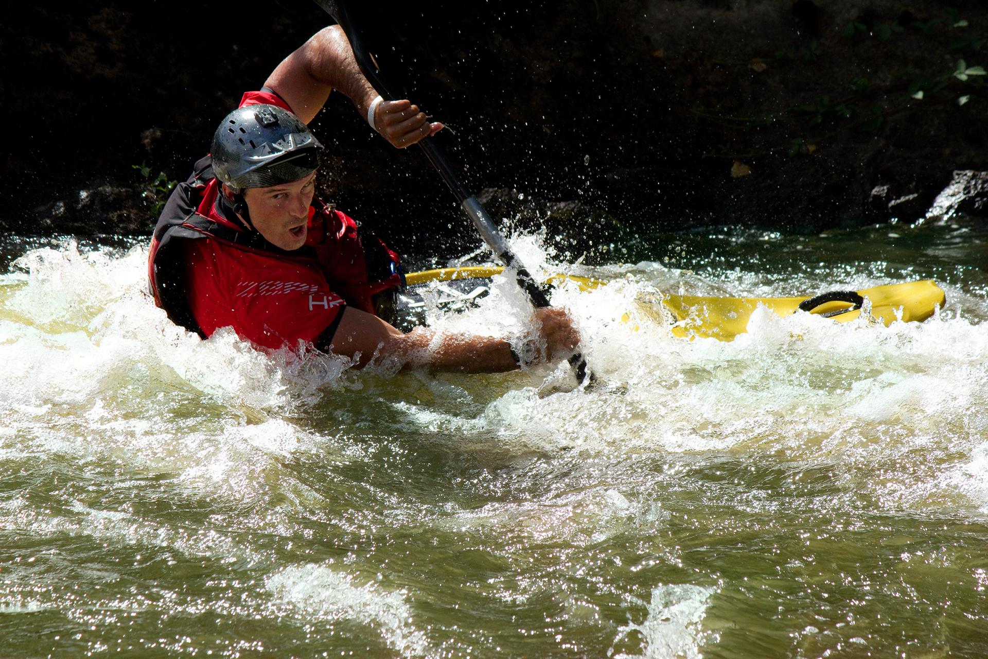Kayak, Haut allier
