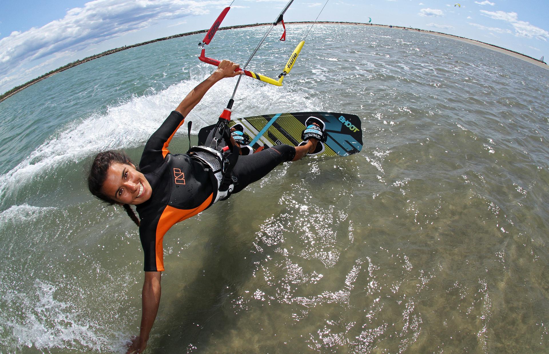 Kite surf à la Franqui