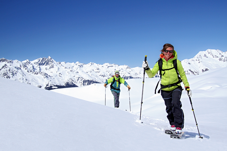 Rando à ski à l'Alpe d'huez